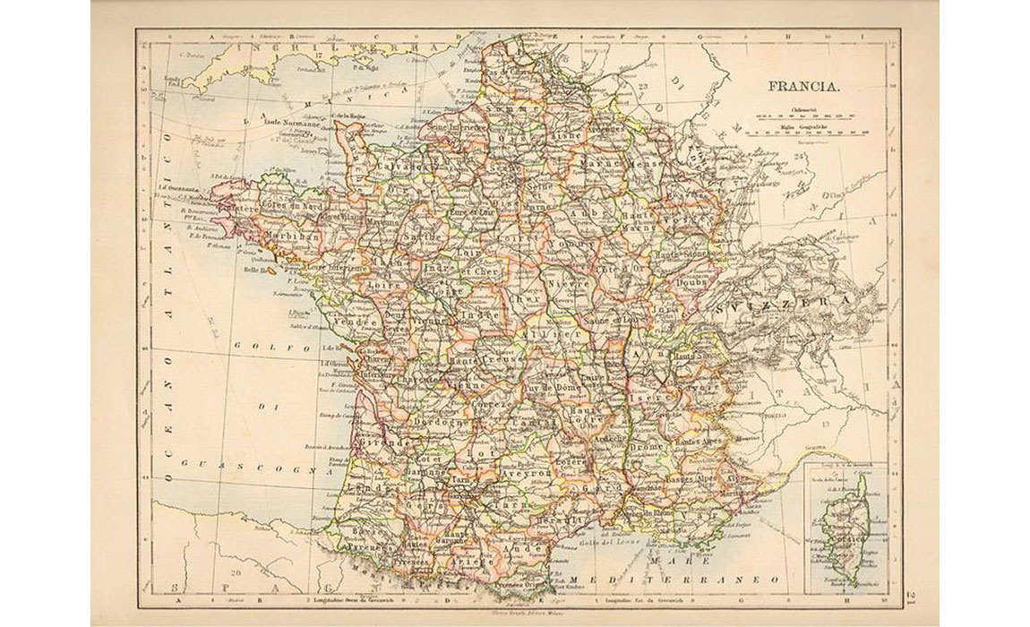 Map Of France 1800.From Millet To Monet Landscape Painting In France 1800 1900 Start