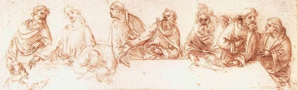"""Italian Renaissance drawings from Galleria dell'Accademia in Venice"""""""